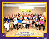 Lone HS Class of 1974 8-30-14